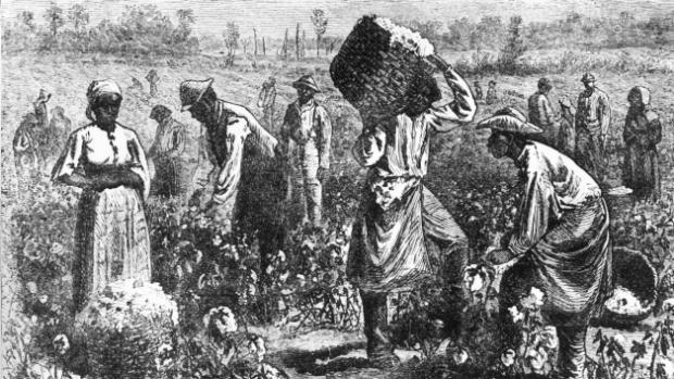 American Slavery Illustration