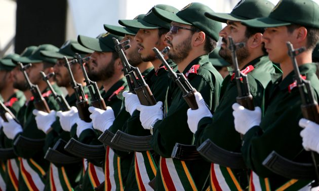 Iranian Revolutionary Guard Members