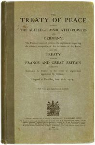 Treaty of Versailles, English Version