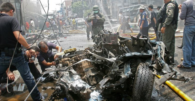 Thai Motorcycle Bomb