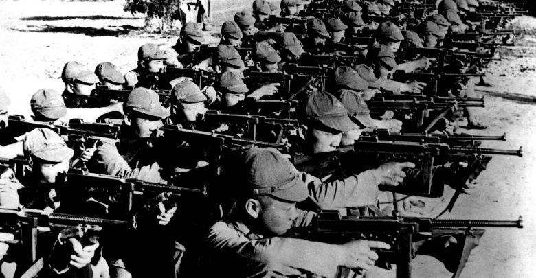 Communist Soldiers Second Sino Japanese War