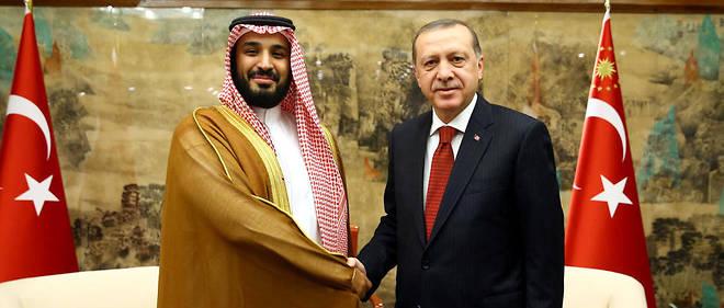 MBS of Saudi Arabia and Erdogan of Turkey