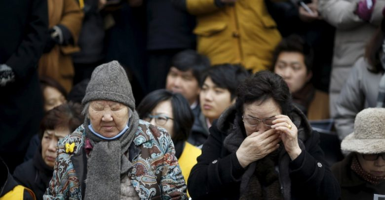 Former Korean Comfort Women