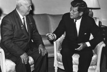 Kennedy and Khruschev