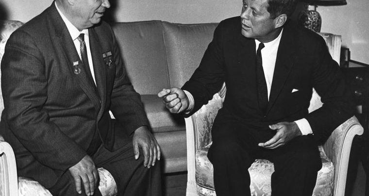 Kennedy and Khruschev