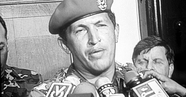 Hugo Chávez in 1992