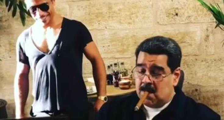 Maduro of Venezuela and Salt Bae of Turkey