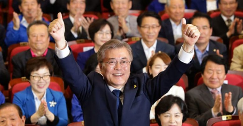 Moon's Promises Repair Economy, Rebuke Corruption, Restitution for Korean Comfort Women